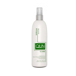 Ollin Care Restore Serum With Flax Seeds - Сыворотка восстанавливающая с экстрактом семян льна 150 мл