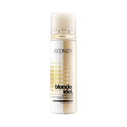 Redken Blonde Idol - Двухфазный нейтрализующий кондиционер-уход для поддержания теплых оттенков блонд Голд 250 мл
