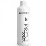 Selective Proteo Perm 1S - Состав для жестких волос, 1000 мл