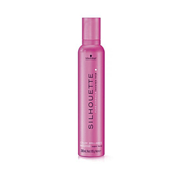 Schwarzkopf Silhouette Color Brilliance Mousse Super Hold - Безупречный мусс для окрашенных волос сильной фиксации 500 мл