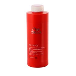 Wella Brilliance Line - Бальзам для окрашенных нормальных и тонких волос 1000 мл
