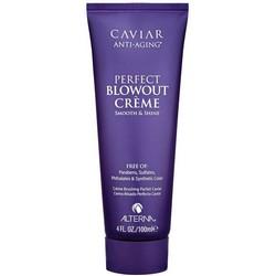 Alterna Caviar Anti-Aging Perfect Blowout Creme - Лосьон для волос омолаживающий, разглаживающий, 100 мл