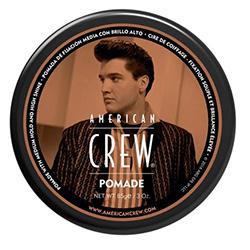 American Crew King Pomade - Помада со средней фиксацией и высоким уровнем блеска для укладки волос, 85 г