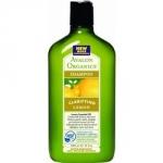 Avalon Organics Lemon Clarifying Shampoo - Шампунь для блеска волос с маслом лимона, 325 мл