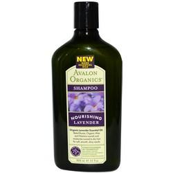 Avalon Organics Nourishing Lavender Shampoo - Шампунь с маслом лаванды, 325 мл
