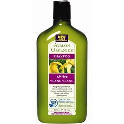 Avalon Organics Ylang Ylang Shine Shampoo - Шампунь Иланг Иланг, 325 мл