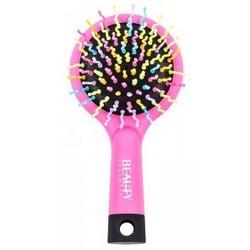 Beauty Essential - Расческа маленькая, Радуга, розовая