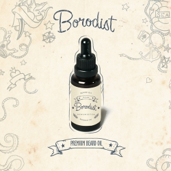 Borodist Beard Oil Premium - Масло для бороды, Океан