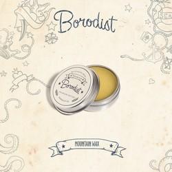 Borodist Premium Mountain Wax - Воск для усов, 13 г.