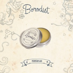 Borodist Premium Mountain Wax - Воск для усов, 13 г.