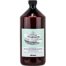 Davines New Natural Tech Detoxifying Scrub Shampoo - Шампунь-скраб детоксирующий, 1000 мл