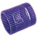 Eurostil 00024 - Бигуди фиолетовые 5 шт.