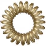 Hair Bobbles HH Simonsen - Резинка-браслет для волос, Золотая, 3 штуки
