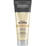 John Frieda Sheer Blonde - Увлажняющий активирующий шампунь для светлых волос, 250 мл