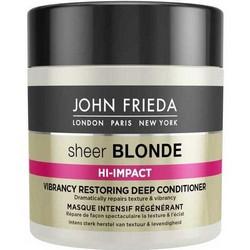 John Frieda Sheer Blonde Hi-Impact - Маска для восстановления сильно поврежденных волос, 150 мл