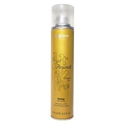 Kapous Fragrance Free Arganoil - Лак для волос сильной фиксации с маслом арганы, 250 мл.
