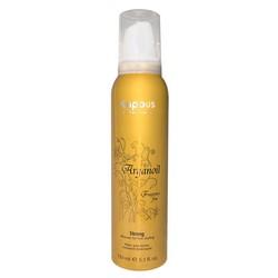 Kapous Fragrance Free Arganoil - Мусс для волос сильной фиксации с маслом арганы, 150 мл.