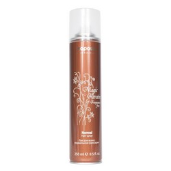 Kapous Fragrance Free Magic Keratin - Лак для волос нормальной фиксации, с кератином, 250 мл.