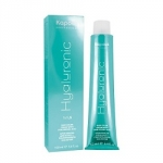 Kapous Hyaluronic Acid - Крем-краска для волос, HY 1.0 Черный, 100 мл