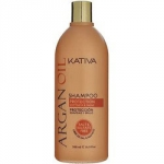 Kativa Argan Oil Shampoo - Шампунь для волос увлажняющий с маслом арганы, 500 мл