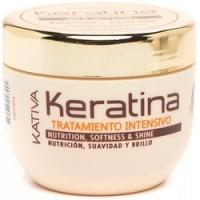 Kativa Keratina - Маска для поврежденных и хрупких волос с кератином, 500 млKativa Keratina - Маска для поврежденных и хрупких волос с кератином, 500 мл купить по низкой цене с доставкой по Москве и регионам в интернет-магазине ProfessionalHair.<br>