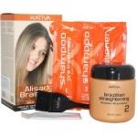 Kativa Keratina - Набор для кератинового выпрямления и восстановления волос с маслом арганы