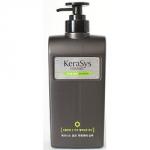 Kerasys Homme Scalp Care Shampoo - Шампунь для мужчин для лечения кожи головы, 550 мл.