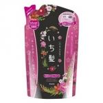 Kracie Ichikami - Бальзам-ополаскиватель разглаживающий для поврежденных волос с ароматом горной сакуры, 360 мл