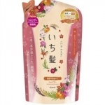 Kracie Ichikami - Шампунь интенсивно увлажняющий для поврежденных волос с маслом абрикоса, 360 мл
