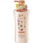 Kracie Ichikami - Шампунь интенсивно увлажняющий для поврежденных волос с маслом абрикоса, 530 мл