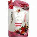 Kracie Ichikami - Шампунь разглаживающий для поврежденных волос с ароматом горной сакуры, 360 мл