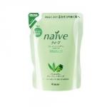 Kracie Naive Aloe&Grape Oil Shampoo Pack - Шампунь для нормальных волос, Алоэ и Виноградные косточки, 400 мл.
