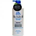 Kracie Umi No Uruoi Sou - Шампунь-ополаскиватель с экстрактом морских водорослей и ментолом, 520 мл