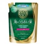 Kracie Umi No Uruoi Sou Conditioner Pack - Бальзам-ополаскиватель с экстрактами Водорослей и протеином Жемчуга, 420 мл.