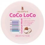 Lee Stafford Сосо Loco Mask - Маска для волос с кокосовым маслом увлажняющая, 200 мл