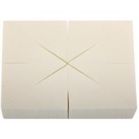 Спонжи треугольные в блоке, 8 штук