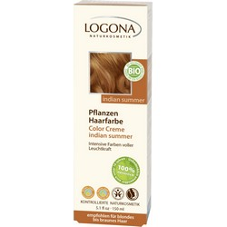 Logona Color Creme Herbal Hair Colour Indian Susser - Крем-краска для волос, тон Индийское Лето, 150 мл