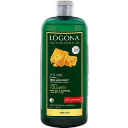 Logona Volume - Шампунь для объема с медом и пивом, 500 мл