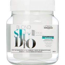 L'Oreal Professionnel Blond Studio Platinium Plus - Обесцвечивающая паста безаммиачная, 500 мл