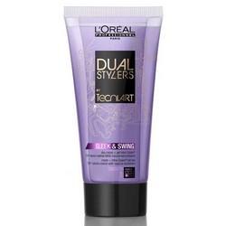 L'Oreal Professionnel Dual Stylers Sleek And Swing - Крем-гель 2-в-1 гладкость для непослушных волос, 150 мл.