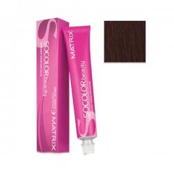 Matrix Socolor.beauty - Крем-краска перманентная Соколор Бьюти 6BR темный блондин коричнево-красный 90 мл