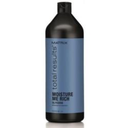 Matrix Total Results Moisture Me Rich Conditioner- Кондиционер для увлажнения сухих волос с глицерином, 1000 мл.