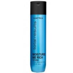 Matrix Total Results Moisture Me Rich Shampoo- Шампунь для увлажнения сухих волос с глицерином, 300 мл.
