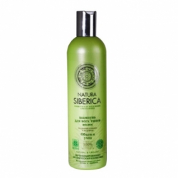 Natura Siberica - Шампунь для всех типов волос Объем и уход 400 мл