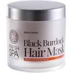 Natura Siberica Frech Spa Bania Detox - Маска для волос, Черная репейная, 400 мл