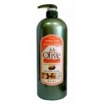 Olive Moisture Care Hair Rinse - Увлажняющий кондиционер, для всех типов волос, 1500 мл.