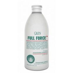 Ollin Professional Full Force Anti-Dandruff Moisturizing Shampoo With Aloe Extract - Увлажняющий шампунь против перхоти с алоэ, 300 мл.