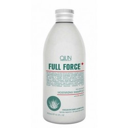 Ollin Professional Full Force Anti-Dandruff Moisturizing Shampoo With Aloe Extract - Увлажняющий шампунь против перхоти с алоэ, 750 мл.