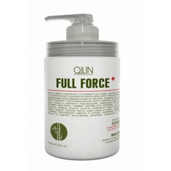 Ollin Professional Full Force Hair&Scalp Mask With Bamboo Extract - Маска для волос и кожи головы с бамбуком, 650 мл.