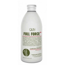 Ollin Professional Full Force Hair&Scalp Purifying Shampoo With Bamboo Extract - Очищающий шампунь для волос и кожи головы с бамбука, 750 мл.
